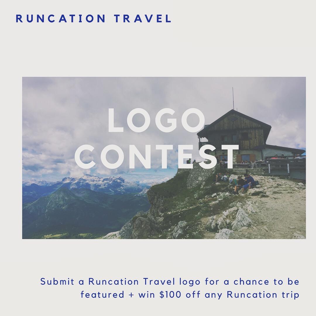 Runcation Travel Discount Logo Contest