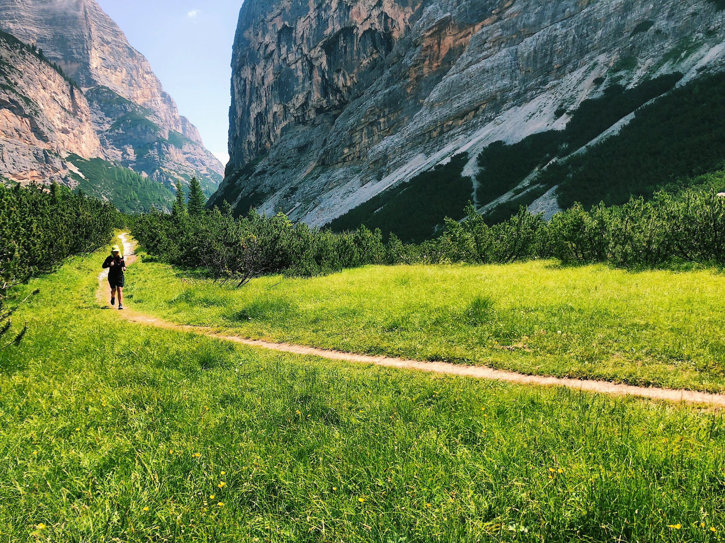how to prevent jet lag for runners dolomites
