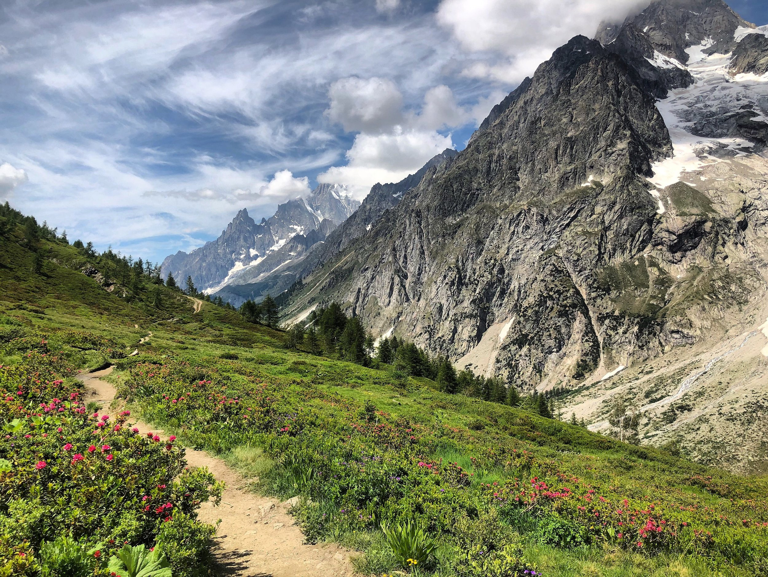 self guided tour du mont blanc trail running runcation
