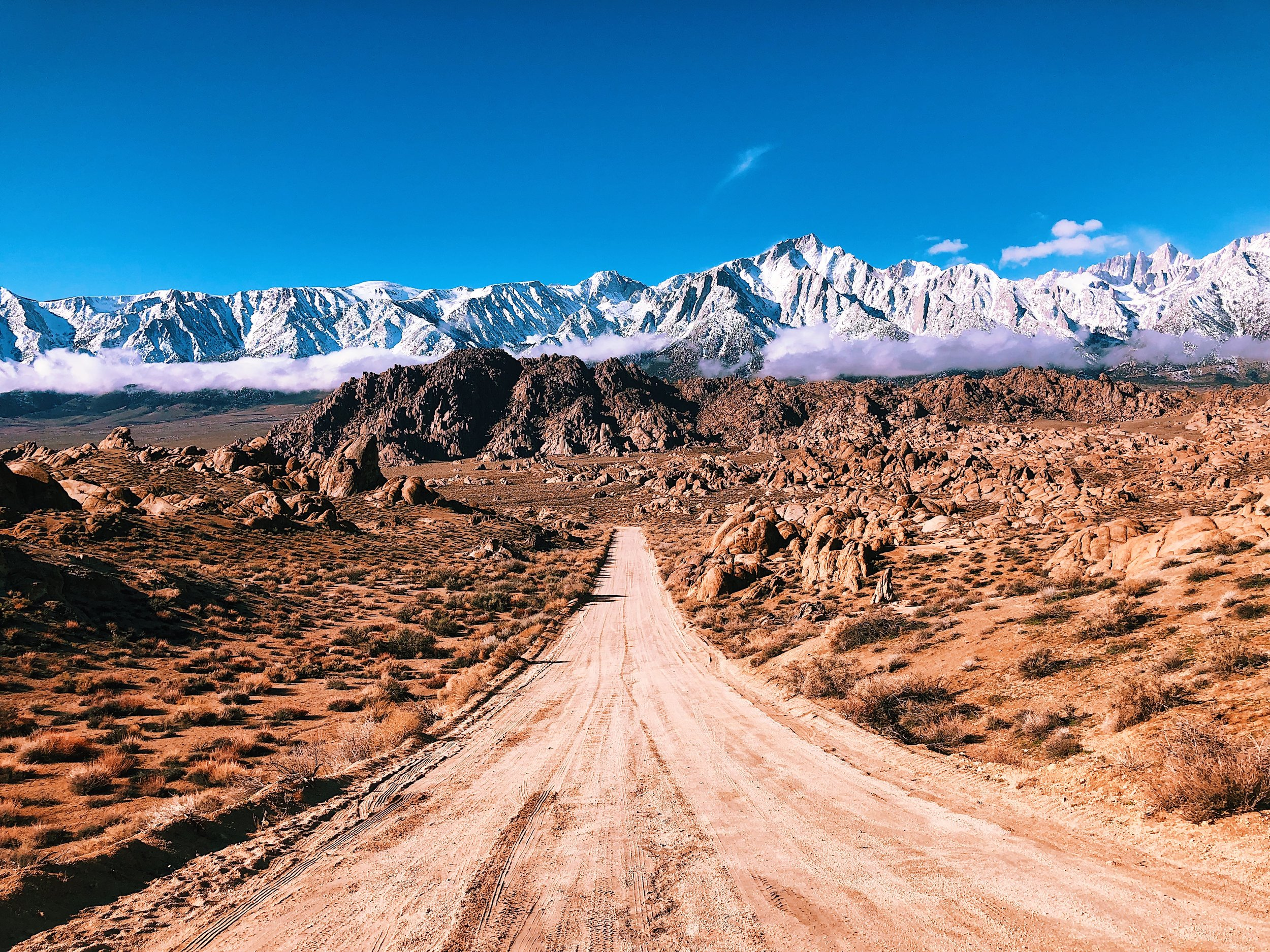 alabama hills eastern sierra trail running playlist