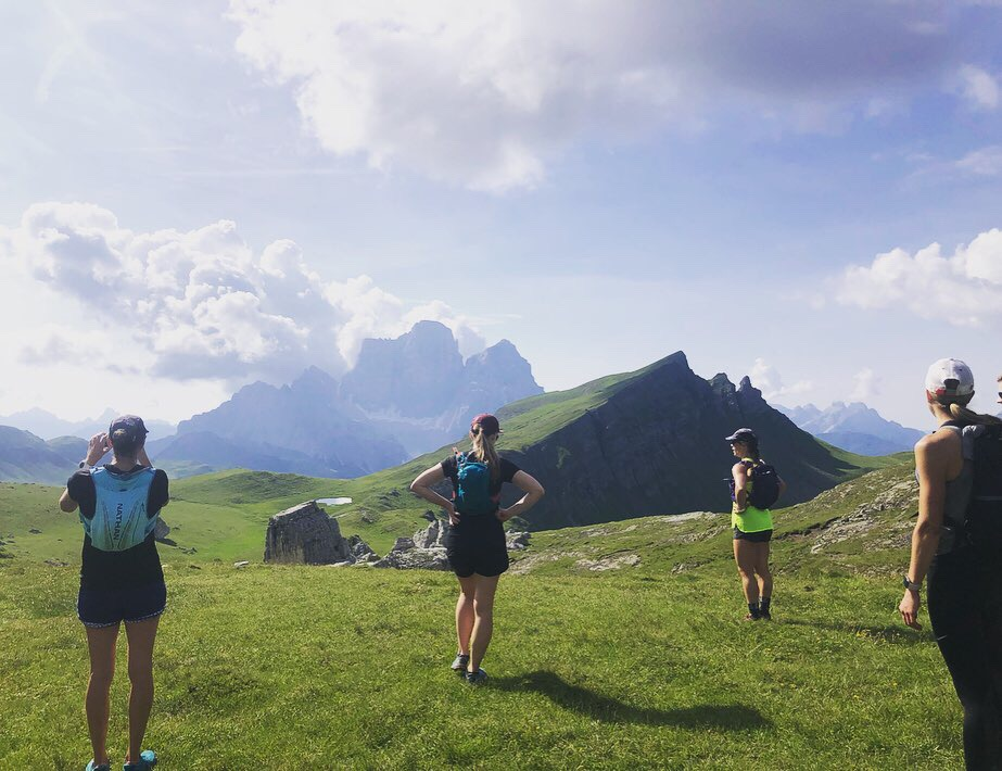 dolomites cortina runcation trail running trip vacation