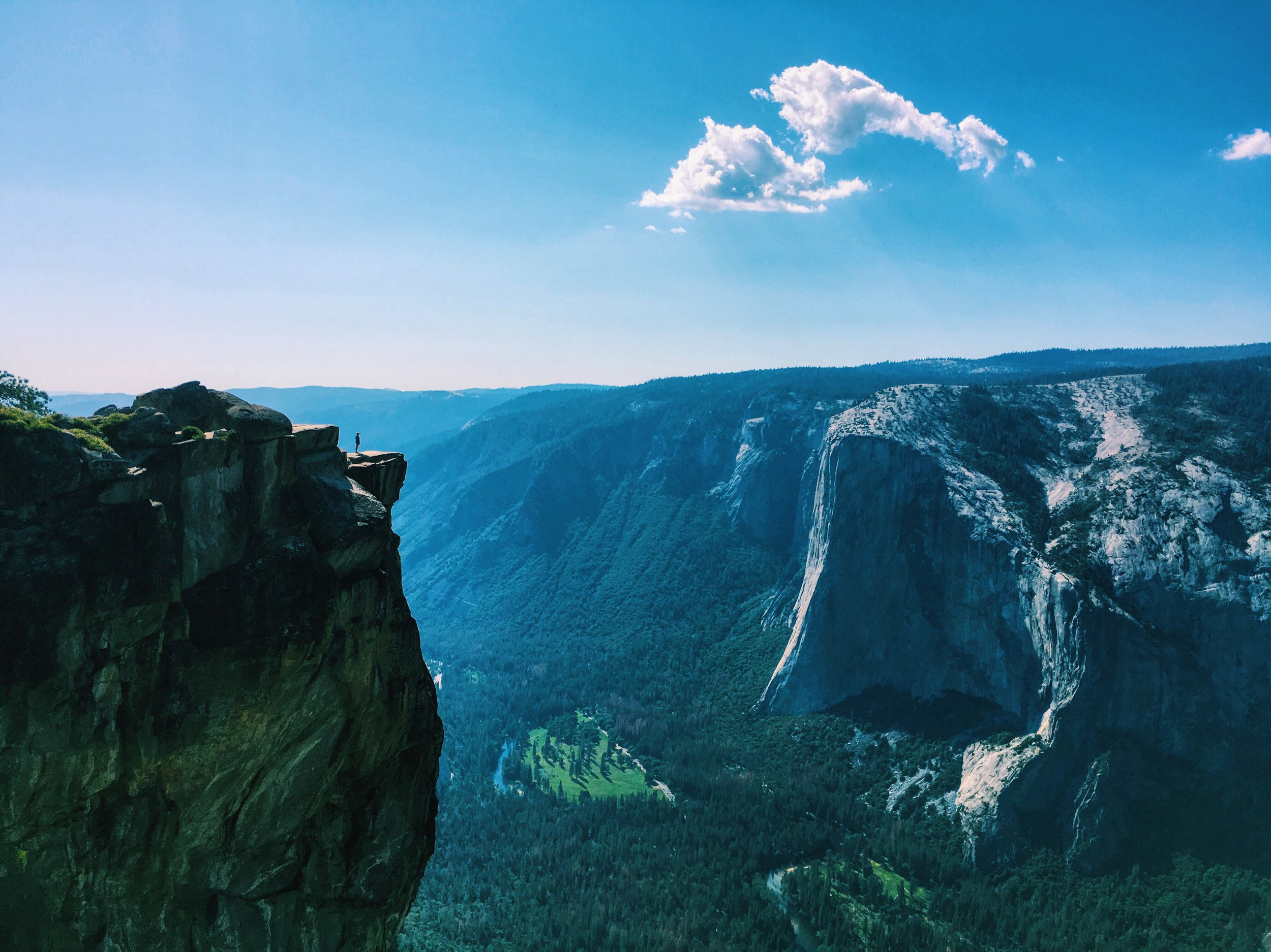 Run your way through Yosemite National Park