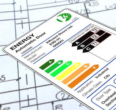 EDSF Energy Label - Conoce como ayudamos al sector de las puertas automáticas europeo a realizar productos más sostenibles