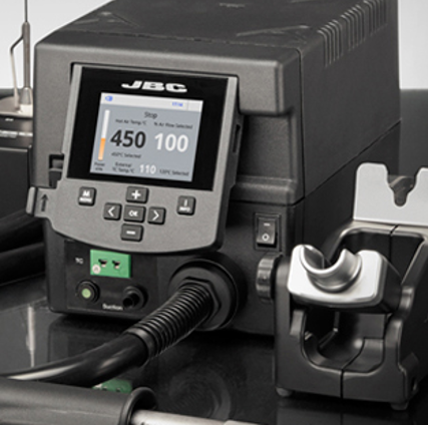 JBC Tools - Learn how we collaborate to improve user interface systems in professional solder and desolder tools