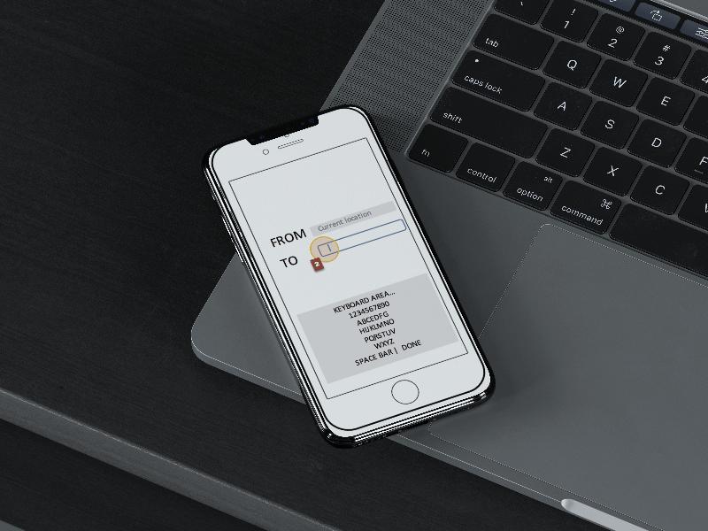 Melbourne metro project - App concept design