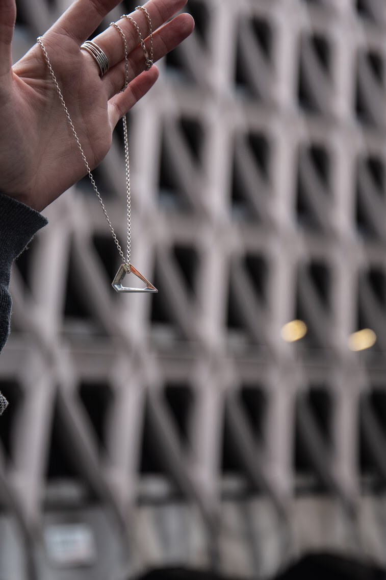 Welbeck car park pendant by Adornment Archive photo by Ellie Bungay