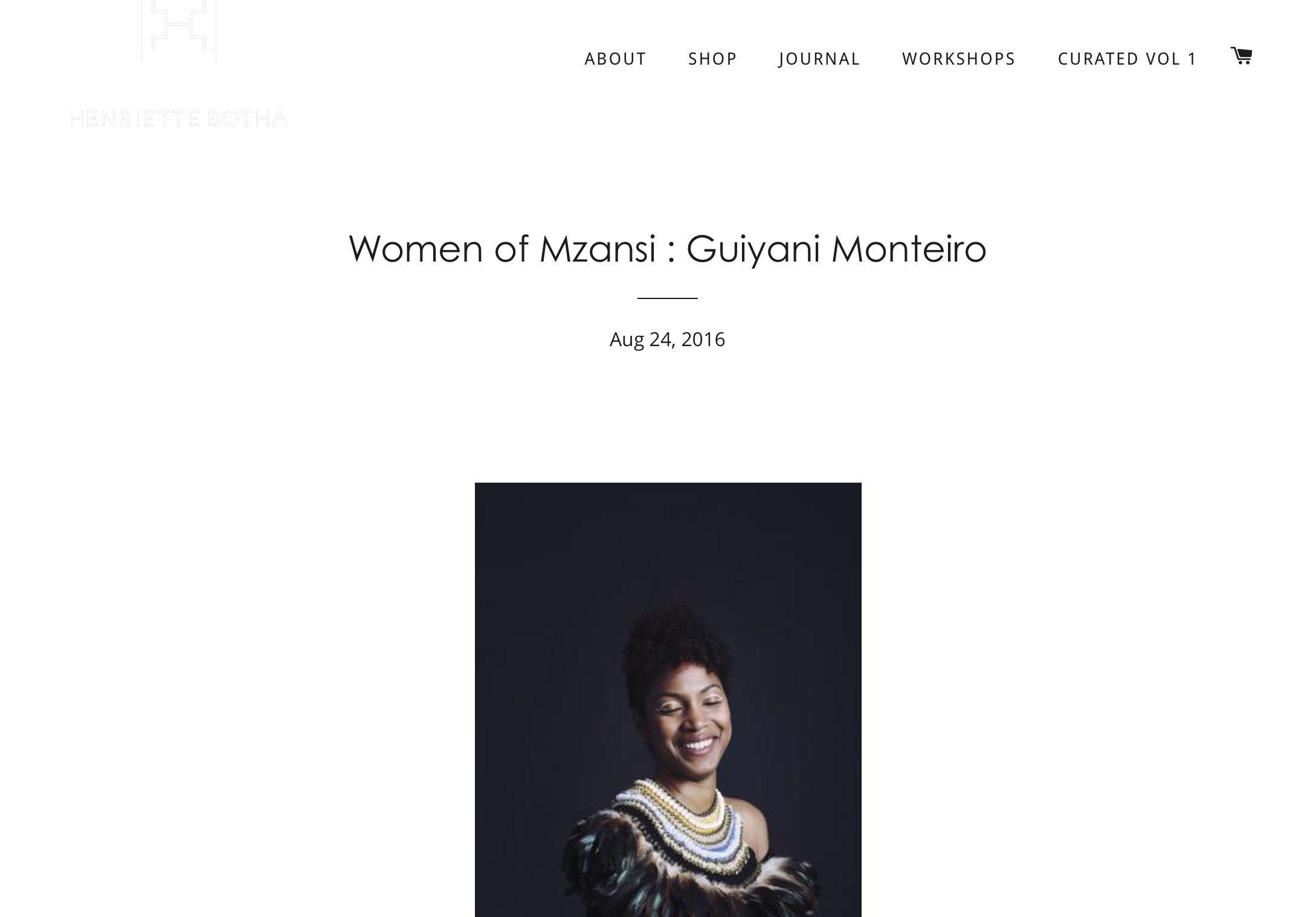 Henriette Botha - Women's month campaign 2016
