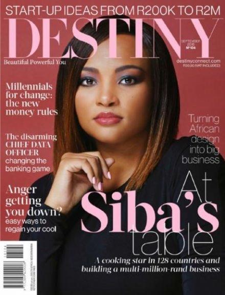 Destiny Magazine (Cover) - Sept 2016