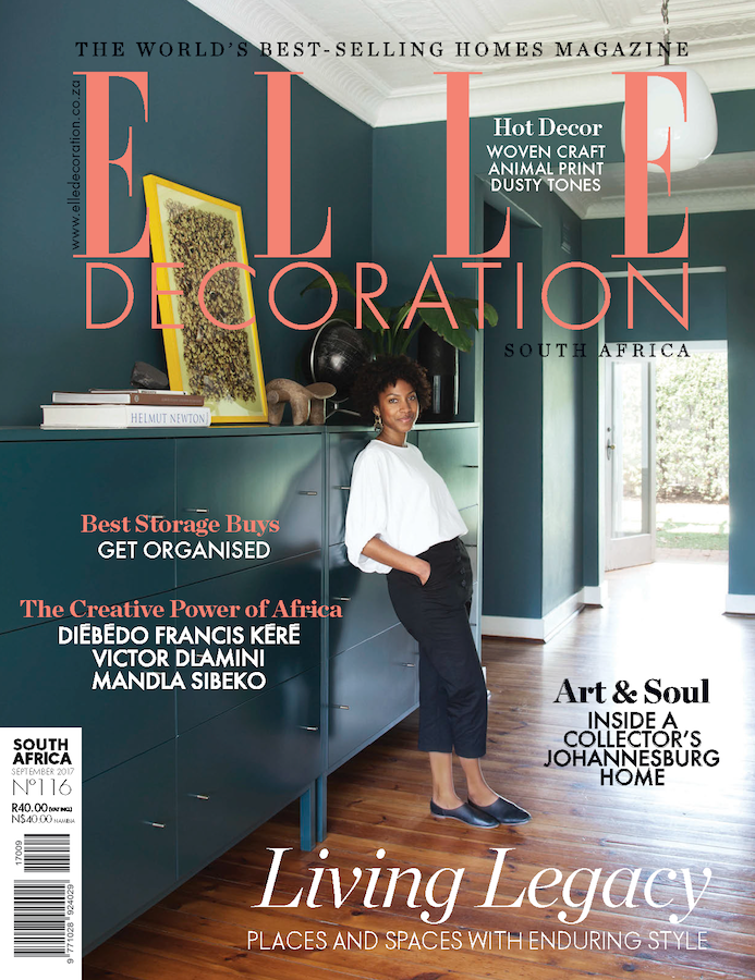 Elle Decoration - Cover September Issue 2016