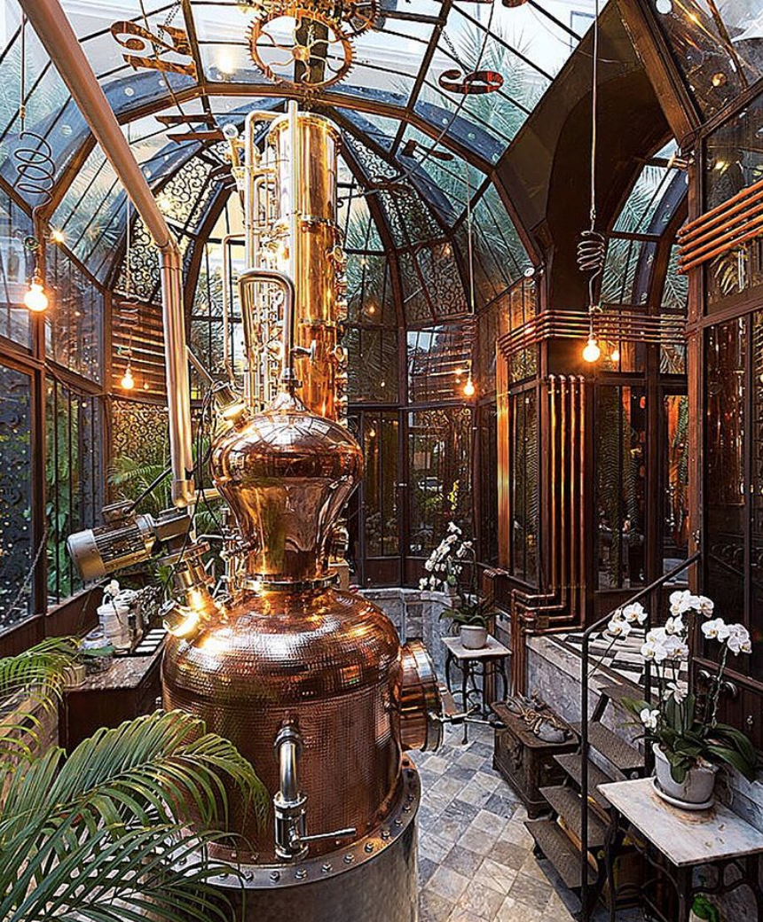 IRON BALLS GIN DISTILLERY   One of the most beautifully designed bars and distilleries I've ever been to and the best spot to get a gin cocktail in the city! Because it is so tiny, the space has been so intricately designed with every inch being considered and production of the gin is extremely limited, for this reason. Iron Balls Gin is handmade from fermentation to distillation using freshly cracked coconuts and pineapples with hints of juniper, hillside ginger and lemongrass.   Map  | Website | Instagram