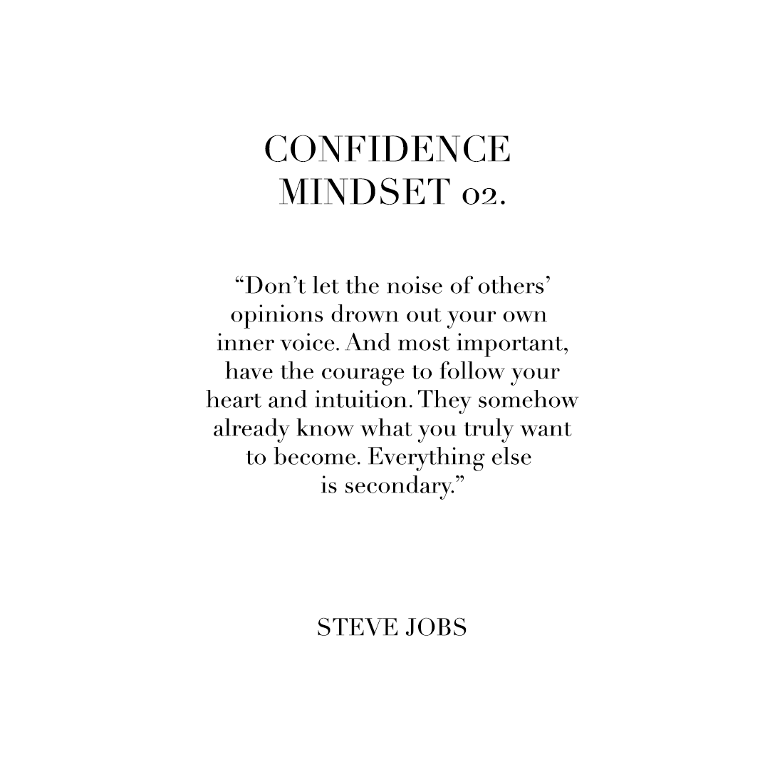 If you are not confident, you tend to question the legitimacy of your ideas ... telling yourself 'I don't know how' or 'I don't have that' or 'others can do it, but I can't.' Other well meaning people (who are not confident either) tend to echo those questions ... 'you don't have enough experience' or 'how are you going to make money?' When you start out with your idea, you don't have to have the answers to all these questions. You can start by following what your heart and intuition tell you. Only when your questions become real obstacles do you need to focus on them and find the solutions.