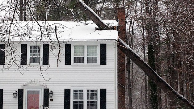 Norton, ma area wind roof damage insurance claim.
