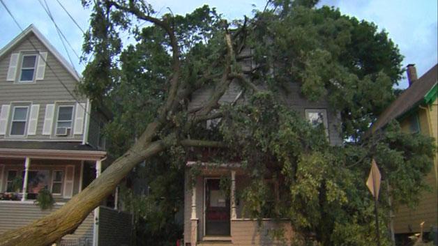 Boxford, ma wind storm damage insurance claim.