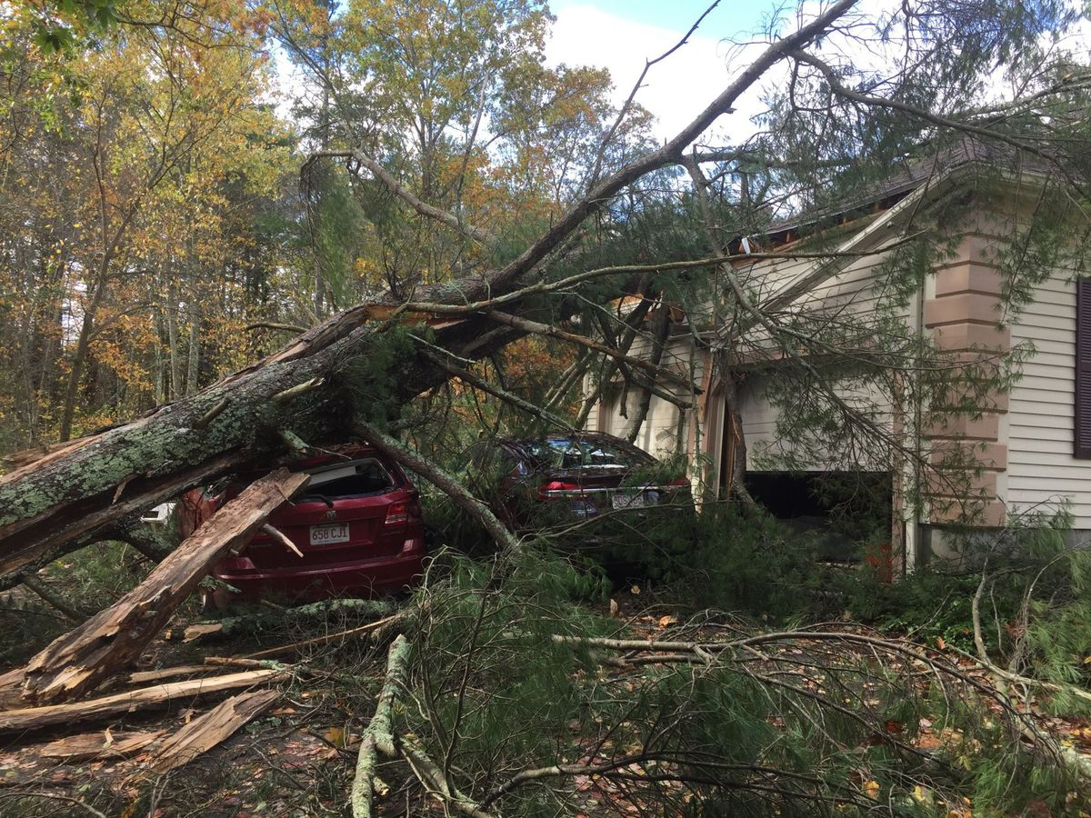 Groveland, ma wind storm damage insurance claim.