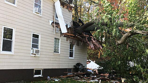 Lynn, ma wind storm damage insurance claim.