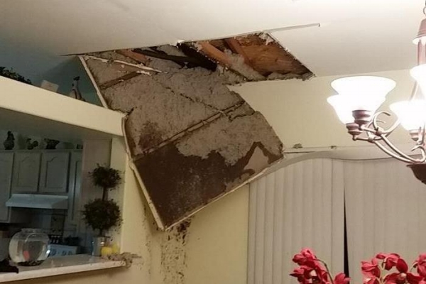Holden MA ceiling damage claims