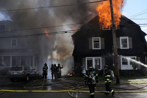 Swampscott MA major house fire damage claim