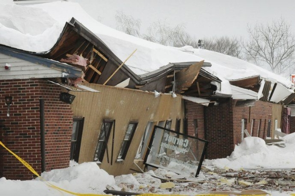 Topsfield MA major structural collapse claim