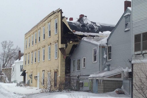 Wenham MA major structural collapse claim