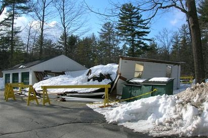 Recent Concord NH roof collapse claim
