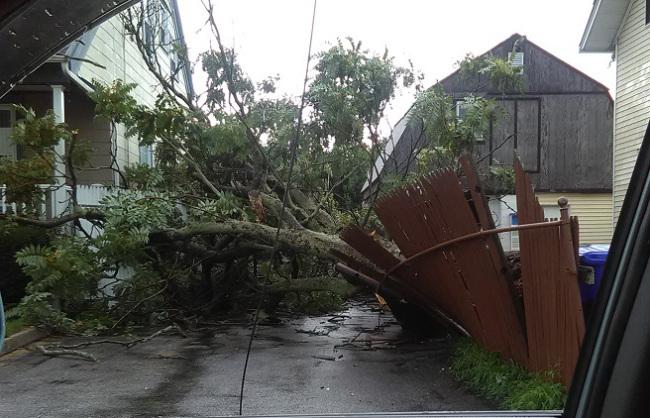 Recent Burrillville RI roof damage claim