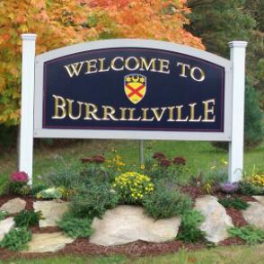 burrillville, RI is located in northwest rhode island.
