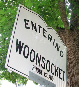 the town of Woonsocket, ri is located in northern rhode island.