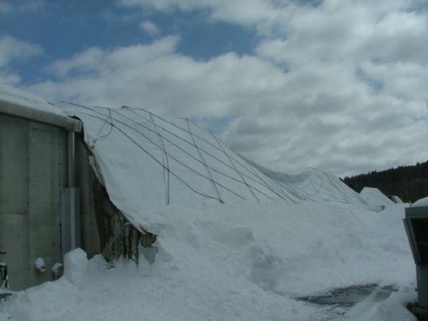 Recent Stratham NH roof damage claim