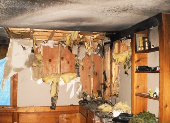 Recent Hollis NH fire and smoke damage claim