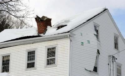 Recent Hampton Falls NH roof damage claim