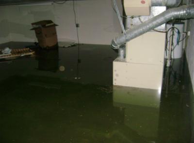 Recent Pawtucket RI pipe burst water claim