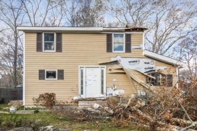 Recent Glocester RI roof damage claim