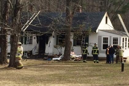 Recent Peterborough NH house fire damage claim