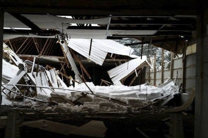 Recent Manchester NH roof collapse claim