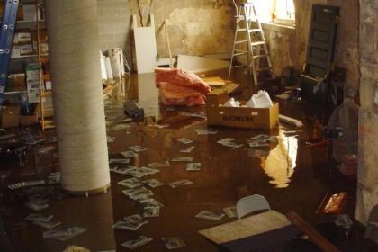 Recent Keene NH pipe burst water damage claim