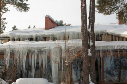 Recent Georgetown MA ice dam damage claim