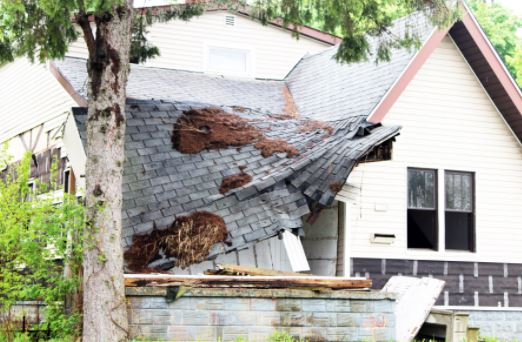 Recent North Kingston RI roof collapse claim