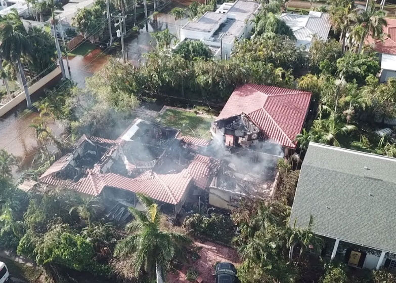 Hollywood FL home fire hurricane damage insurance claims