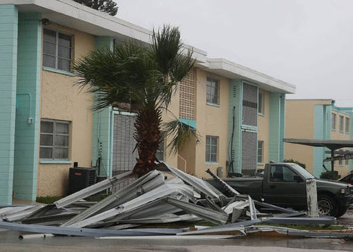 Jenson Beach FL business hurricane damage insurance claims
