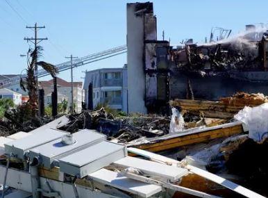 MYrtle Beach, SC hurricane damage and major fire insurance claim.