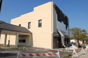 Cape Carteret, NC hurricane and wind damage insurance claim.