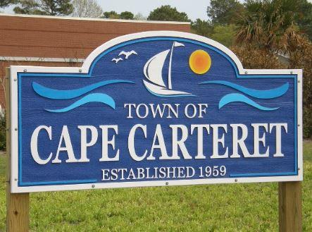 Town of Cape Carteret, NC — established 1959.