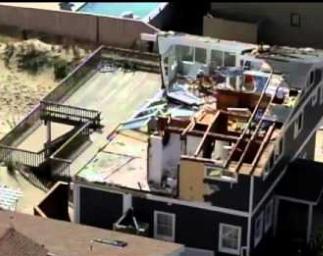 Hatteras, nc major wind & structural Damage insurance claim.