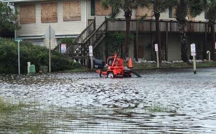 Holden Beach, NC commercial property flood insurance claim.