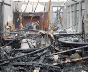 Panama city, FL house fire damage insurance claim.