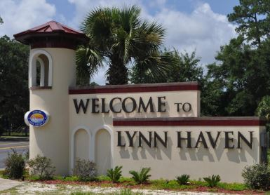 welcome to Lynn Haven, FL.