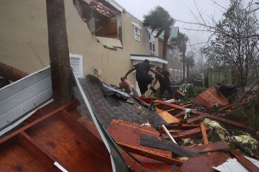 Lynn Haven, FL apartment roof and structural damage insurance claim.