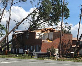 Lynn Haven FL condominium association hurricane insurance damage claim.