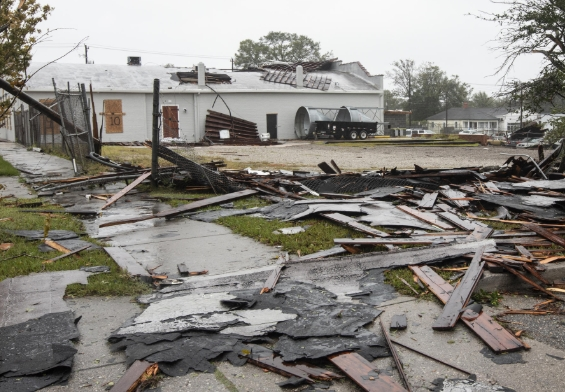 Wilmington, NC commercial property damage insurance claim.