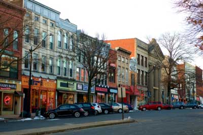 Downtown northampton, ma.